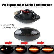 купить Side light 2PCS for BMW Mini Cooper R50 R52 R53 Leaf light Turn signal lamp по цене 1145.66 рублей