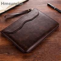 Hmsunrise Leather Case For Apple Ipad 9 7 Inch 2017 Ultra Thin Folio Flip Stand Cover