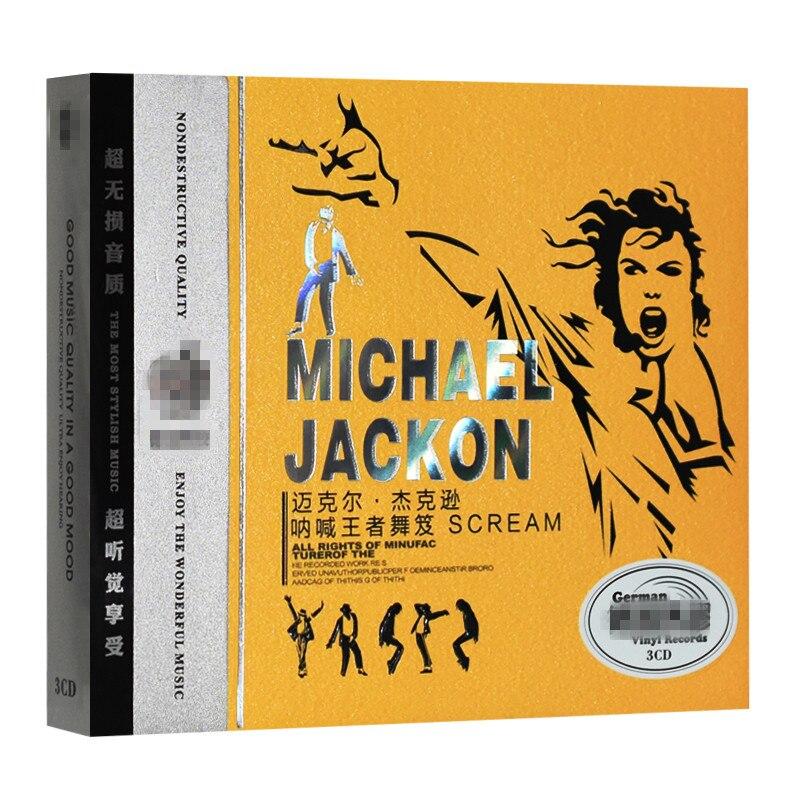 US $28 88 |BWQ new CD seal European and American Popular music Michael  Jackson SCREAM car music vinyl 3CD light disk free shipping-in CD/DVD  Player