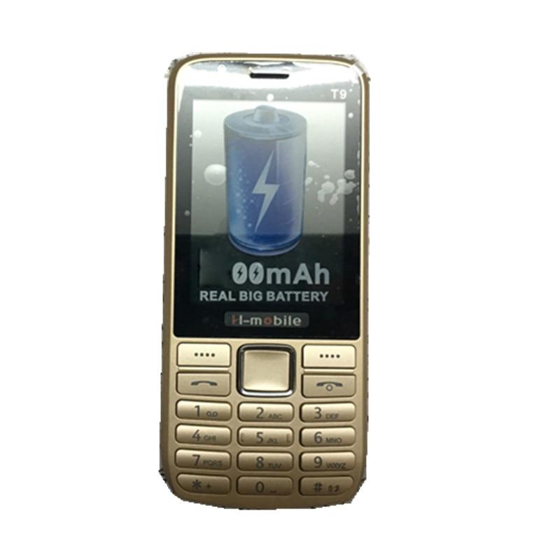 Цена за H Mobile T9 Телефон с Двумя Sim карты, Bluetooth, Фонарик, MP3, MP4, FM Camera2.8 дюйма CheapPhone (может добавить Русская Клавиатура)