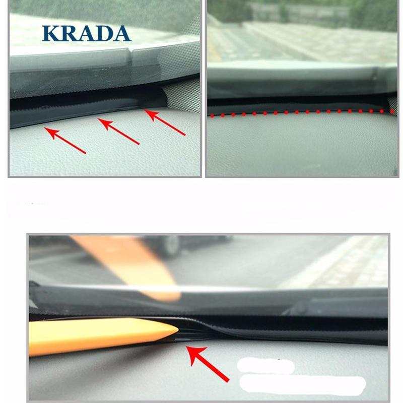 KRADA T Jenis Auto Segel Karet 1.6 m Kaca Depan Segel Perekat Strip Mobil Styling untuk BMW f30 x1 x5 e53 x5 e30 e34 e36 e92 x5 70