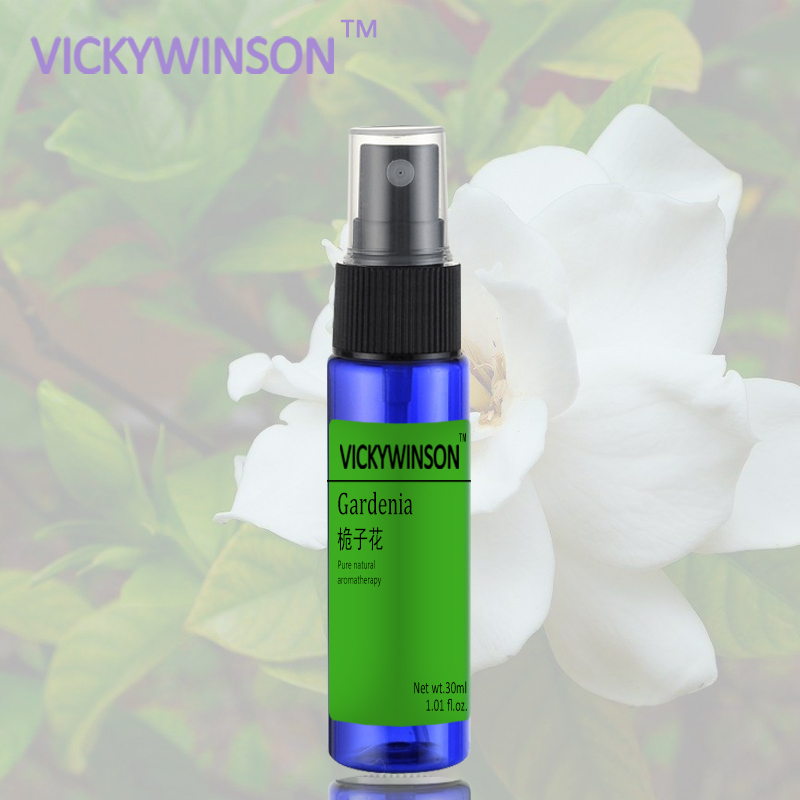 Gardenia Fragrance Fragrant Scent Long Lasting Fragrance Fast Body Deodorant Spray 30ml