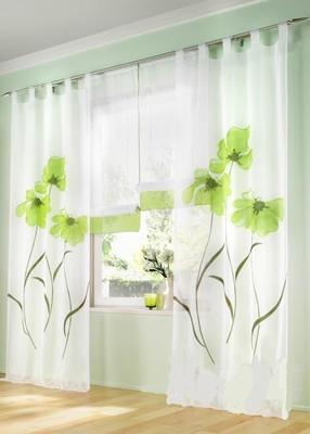 (150cm wide)Hot sale Finished curtains for windows gauze