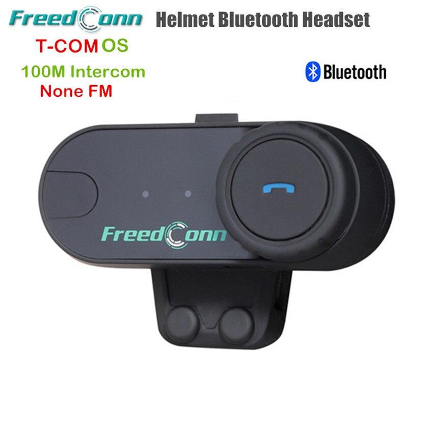 Freedconn T-COMOS 2 Riders Motorcycle Helmet Intercom Headset Bluetooth Handsfree Moto Intercomunicador Interphone Windproof Mic