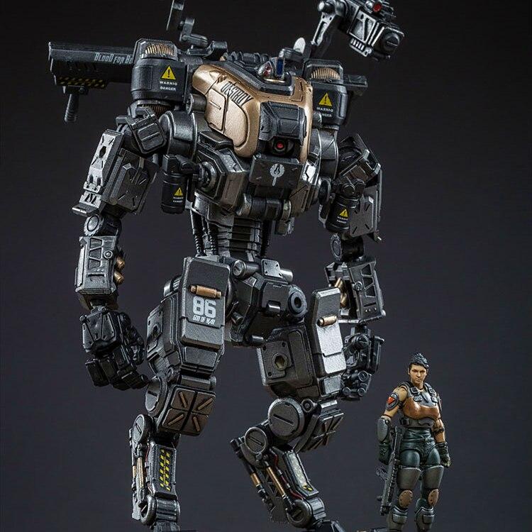 VREUGDE SPEELGOED 1:25 action figure robot Militaire GOD VAN OORLOG 86 Zilver model pop Mecha hoge Gratis verzending-in Actie- & Speelgoedfiguren van Speelgoed & Hobbies op  Groep 1