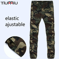 Pure Cotton Camouflage Trousers Men Loose Wear resisting Dirty resistant Thicker Auto Repair Labor Protection Military Tactical