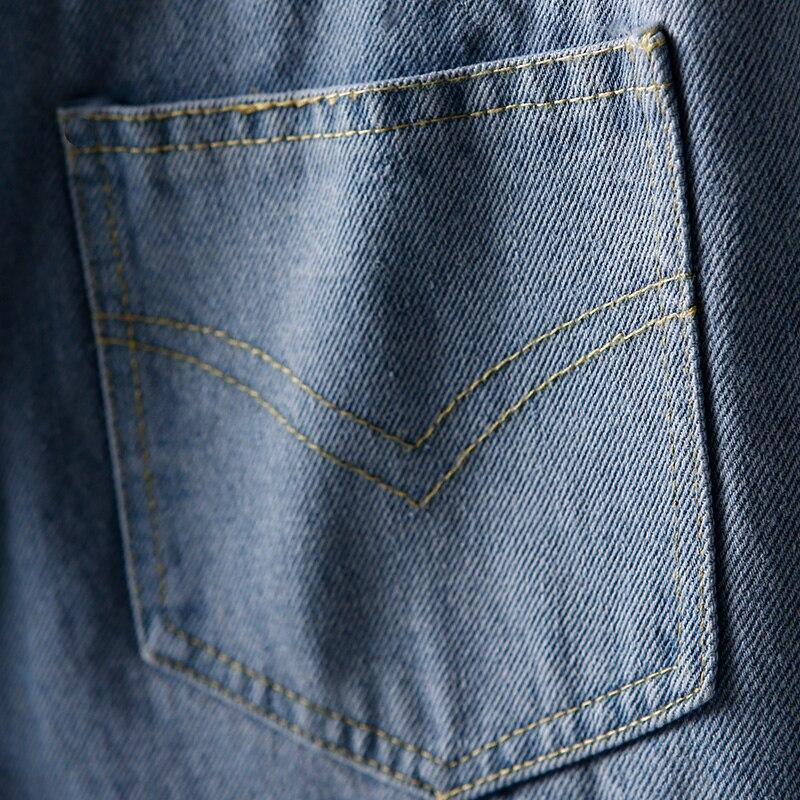 Kadın Giyim'ten Kot Pant.'de N6070 Kore versiyonu sıkıştırılmış düz tüp geniş bacak yüksek bel kot pantol'da  Grup 3