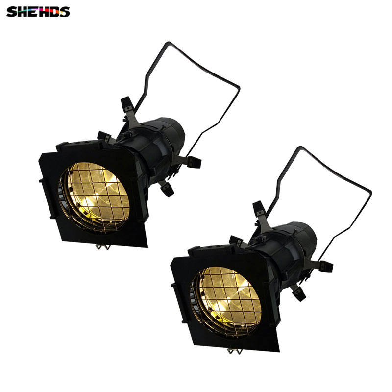 2pcs/lot LED 200W Spot Imagery Light LED Stage Pattern Lamp ,2DMX Channel For Indoor Disco Party Disco,SHEHDS Stage Lighting