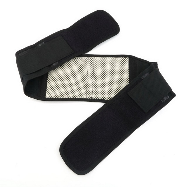 1pc Adjustable Pad Tourmaline Magnetic Belt self-heating Lumbar Support Brace Double Banded Wholesale free shipping