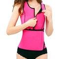 Hot Shapers Shaperwear Cintura Instrutor Vest Workout Neoprene Sauna Emagrecimento Cinto Ajustável Suor Fajas shaper Do Corpo Magro Cueca