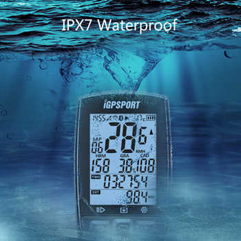 iGPSPORT IGS50E GPS Computer Cycling ANT+ Bike Wireless Computer Digital Speedometer Odometer Backlight IPX6 Waterproof Computer
