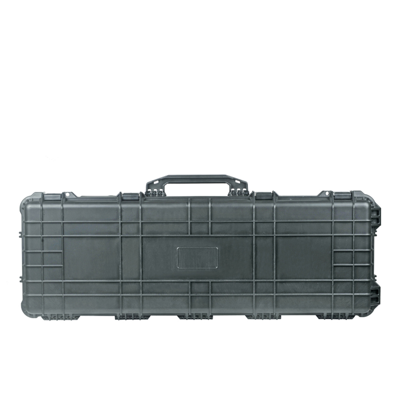 Long Size External 1346*406*155mm Waterproof Shockproof Plastic Military Gun Case With Wheels