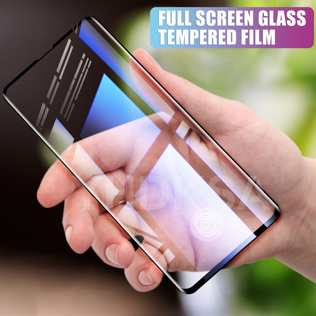 30D Protective Glass on the For Samsung Galaxy S10e S10 S9 S8 Plus S7 Edge Note 8 9 Tempered Screen Protector Glass Film Case 1