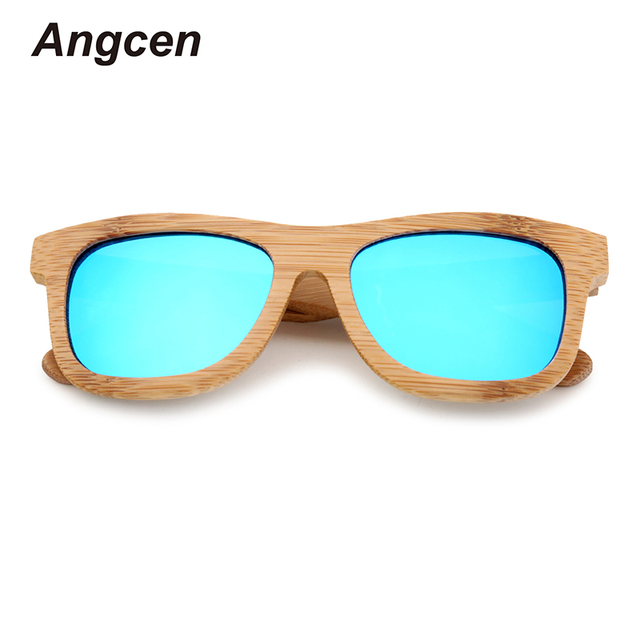 Męskie Okulary Przeciwsłoneczne Bambus