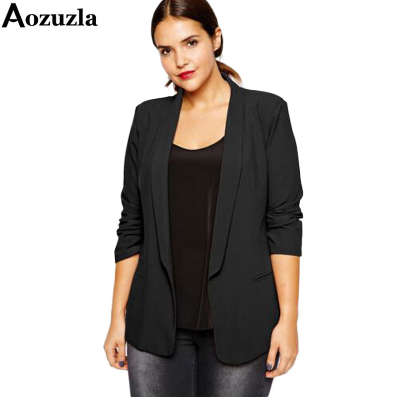 Popular Woman Black Blazer-Buy Cheap Woman Black Blazer -2468