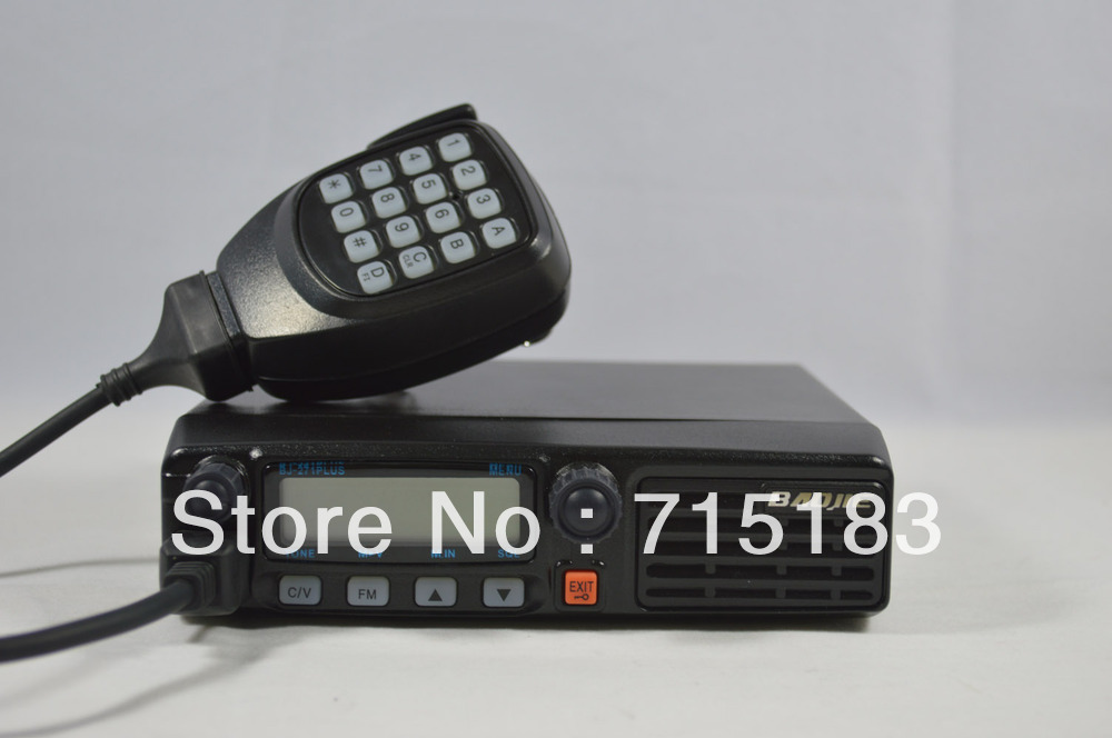 Mobile Radio/Vehicle Radio Single Band UHF:400-470MHz/VHF:136-174MHz 128CH 45W Car Radio