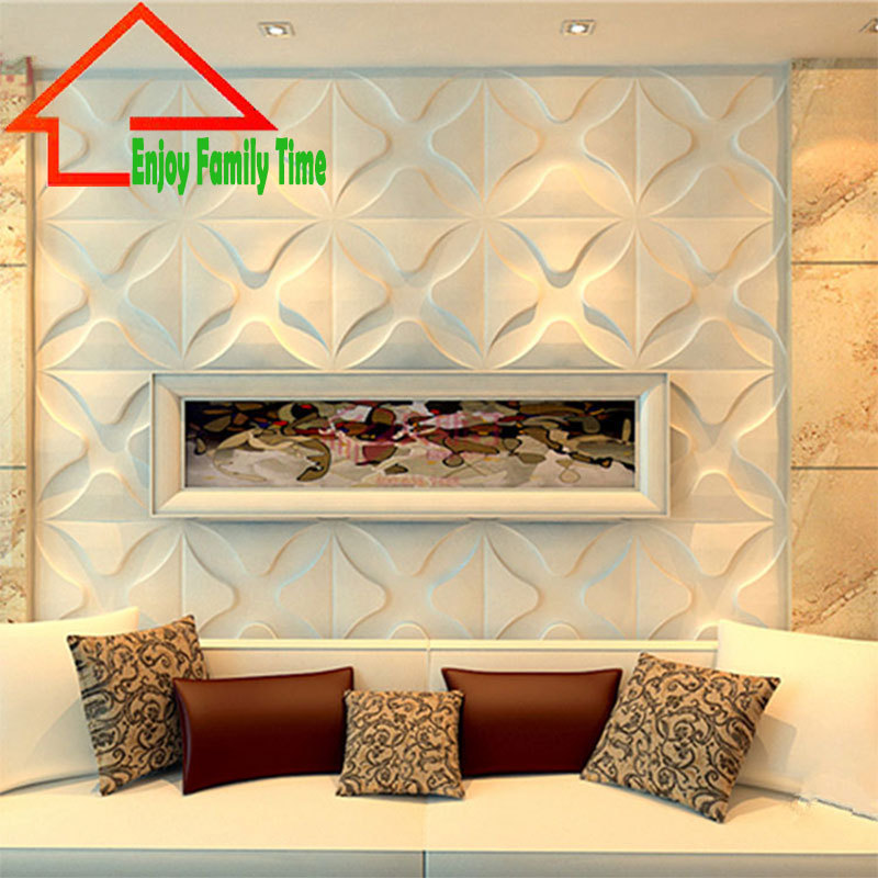 new design europe soundproof decorative 3d wall panel for bedroom 3d pvc waterproof board wall