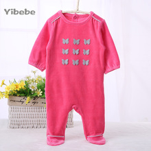 Baby Girl Boy Rompers Long Sleeve Clothes