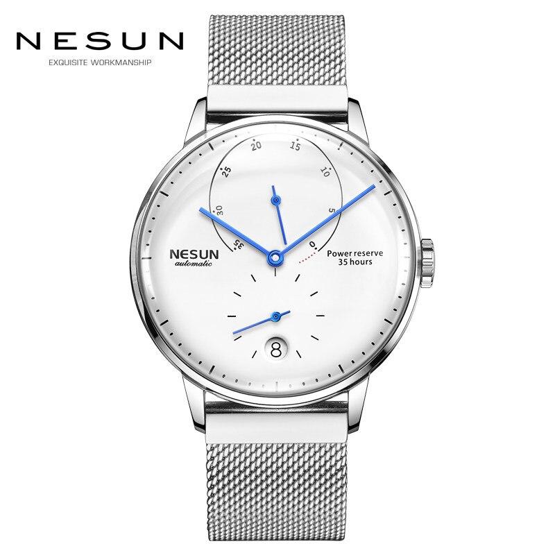 Luxury Brand Watch Nesun Automatic Mechanical