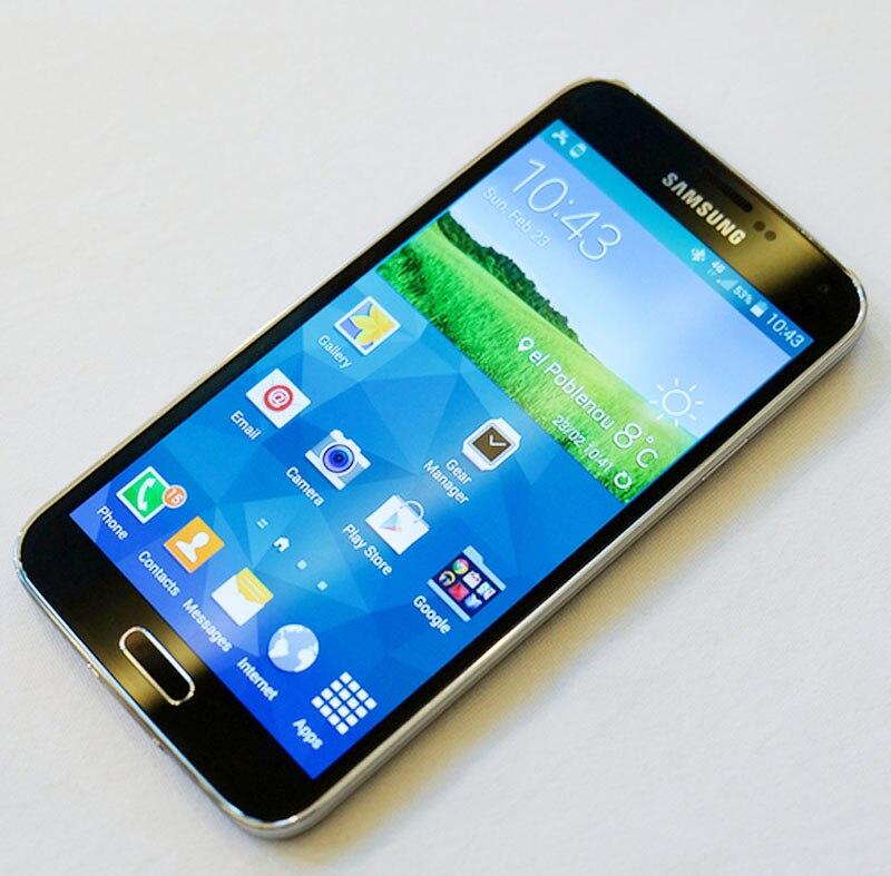 bilder für Entsperrt 100% Original Samsung Galaxy S5 G900 handy mit 3G 16MP Kamera WIFi Quad-core Freies DHL-EMS Verschiffen