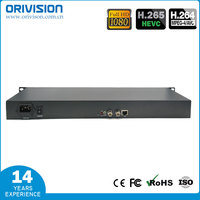 1 ch SDI Video Encoder with SDI loop out 1U Rack mounted h.265 &h.264 video encdoer support http/rtsp/rtmp/hls/flv/udp/onvif