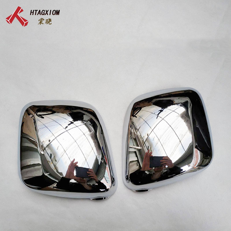 for Nissan Nv200 Evalia 2010 2018 ABS Chrome Rear view Mirror Decoration Cover Car Styling Stickers Auto Accessories 2 Pcs