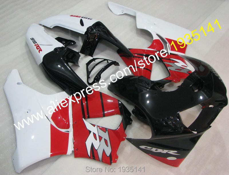 Горячие продаж,для Honda CBR900RR 919 1998 1999 Огненный ЦБР 900 РР CBR919 98 99 красный черный белый Кузов мотоцикл обтекатель комплект