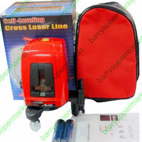 AK435 360degree Self leveling Cross Laser Level Red 2 Line 1 Point