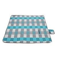 200*200cm Single velvet camping mat for outdoor picnic beach crawl foldable Moistureproof mat