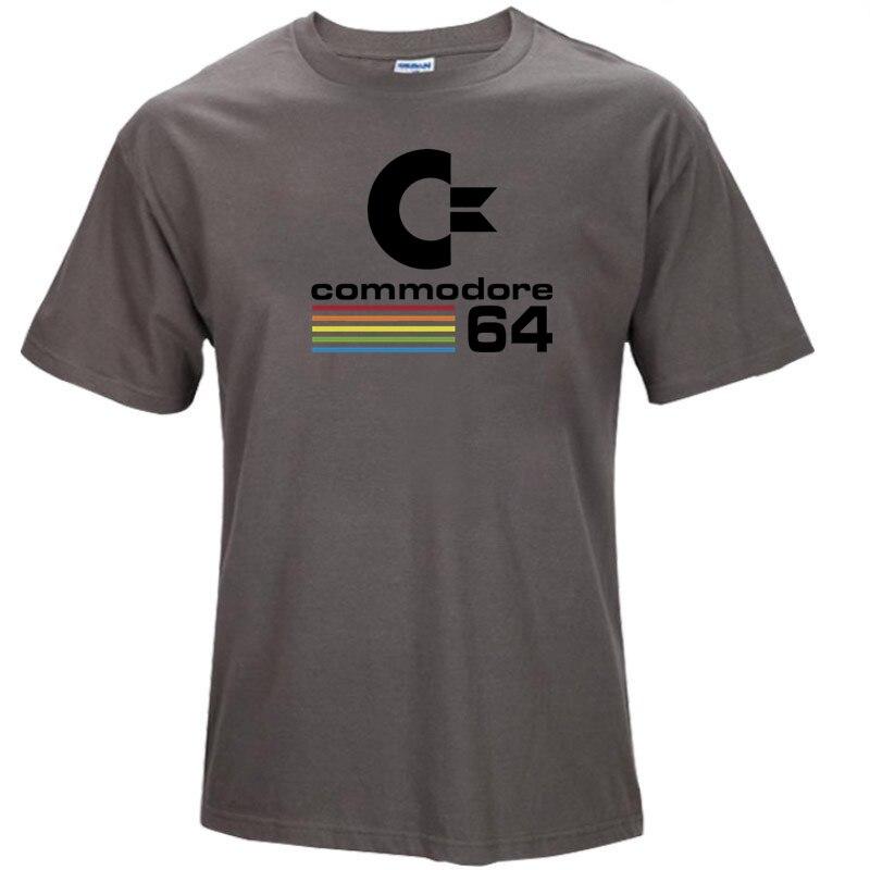 Летние Commodore 64 Футболки C64 SID Amiga Ретро 8-бит ultra cool Дизайн винил футболка мужская Костюмы с короткий рукав s64