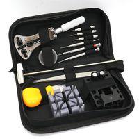 Multi-função de Relógio Reparação Kit de Ferramentas Com Tamanho Pequeno Instrumento de Coleta de Saco Portátil Fácil Utilização Assistir Reparação Kit