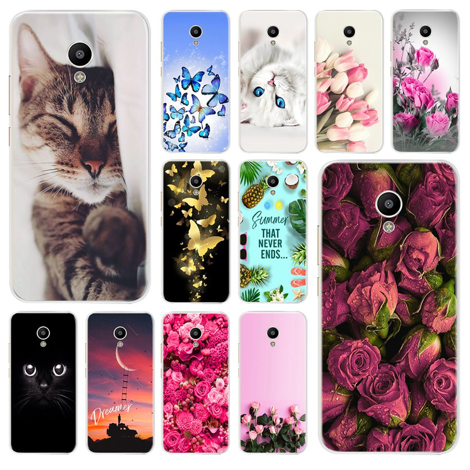 Soft TPU Cover For Meizu M3S Mini Phone Case For Meizu M3S Bag Cartoon Painting Shockproof Shell For Meizu M3 S M3S Mini M3SMini