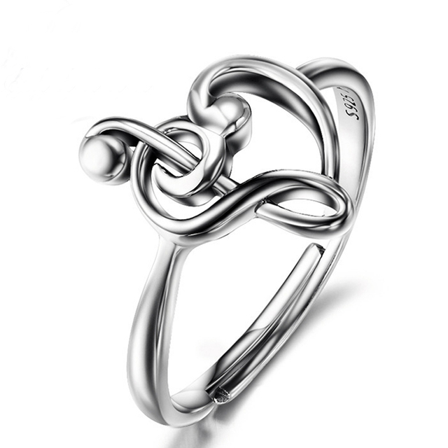 Aliexpress Com Buy Sue Phil 925 Sterling Silver Music Note Wedding