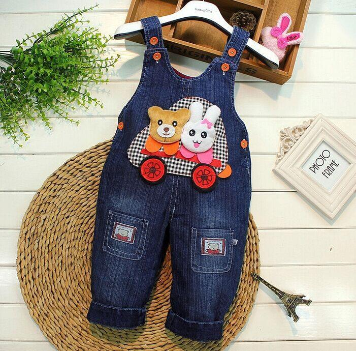 6e7c9bc9709a Spring 2017 kids overall jeans clothes newborn baby bebe denim ...
