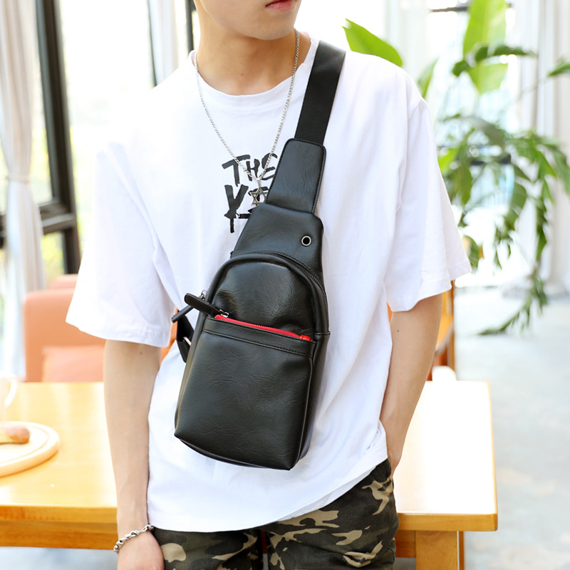 Chest Bags For Men & Women 2019 Fashion Brand Girl Eyes Monster Crossbody Bag Boys Waterproof PU Sling Shoulder Bags IPad Pocket