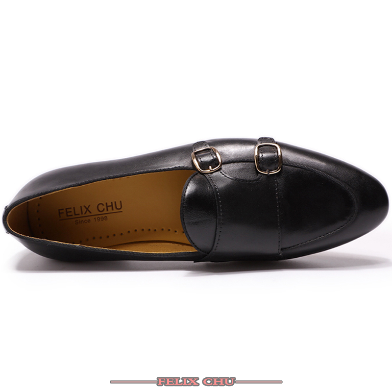 럭셔리 chaussure 옴므 오피스 비즈니스 웨딩 정장 드레스 로퍼 브라운 블랙 신발 더블 hasp 정품 가죽 남성 신발 캐주얼-에서남성용 캐주얼 신발부터 신발 의  그룹 2