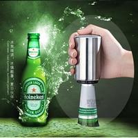 Drixon Нержавеющаясталь Air Давление для бутылок пива openor легко Пресс Бар Инструмент Новинка пункт