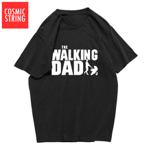 3a4a2a660 COSMIC STRING The Walking Dad Fathers Day Gift Men's Funny T-Shirt T Shirt  Men
