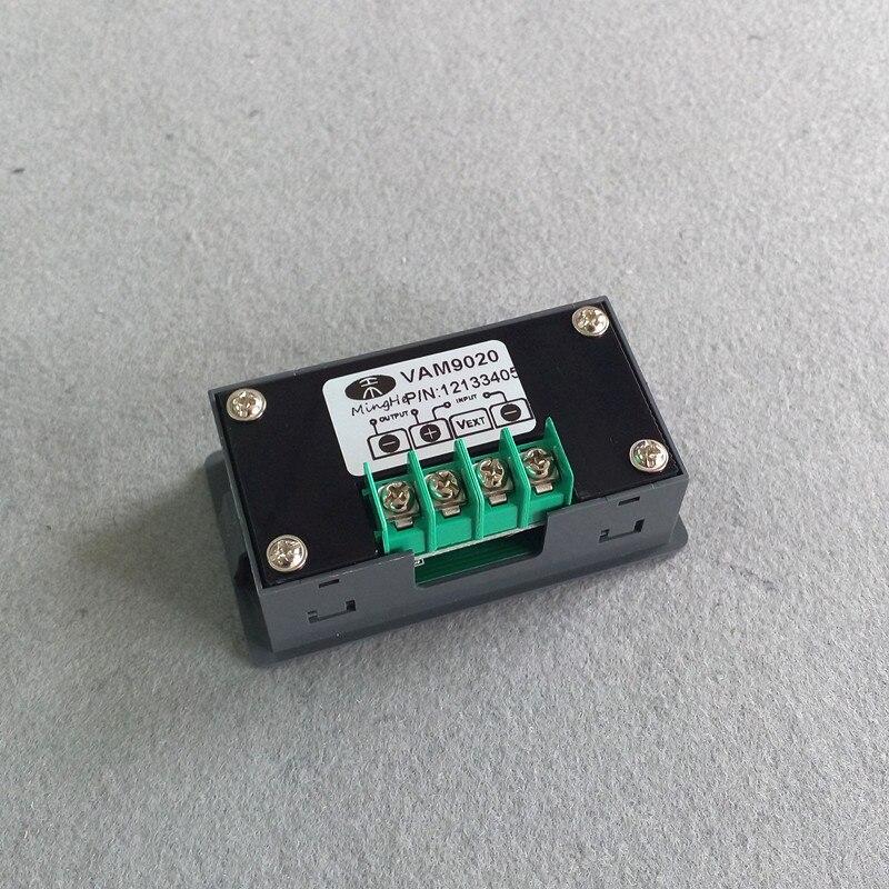 VAM9020 DC 90V 20A Digital Voltmeter Ammeter Power Current Tester Voltage Amp Meter 4 Byte Red LED Dual Display  цены