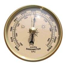 Для дома манометр Метеостанция металлический настенный барометр атмосферный Многофункциональный термометр гигрометр портативный