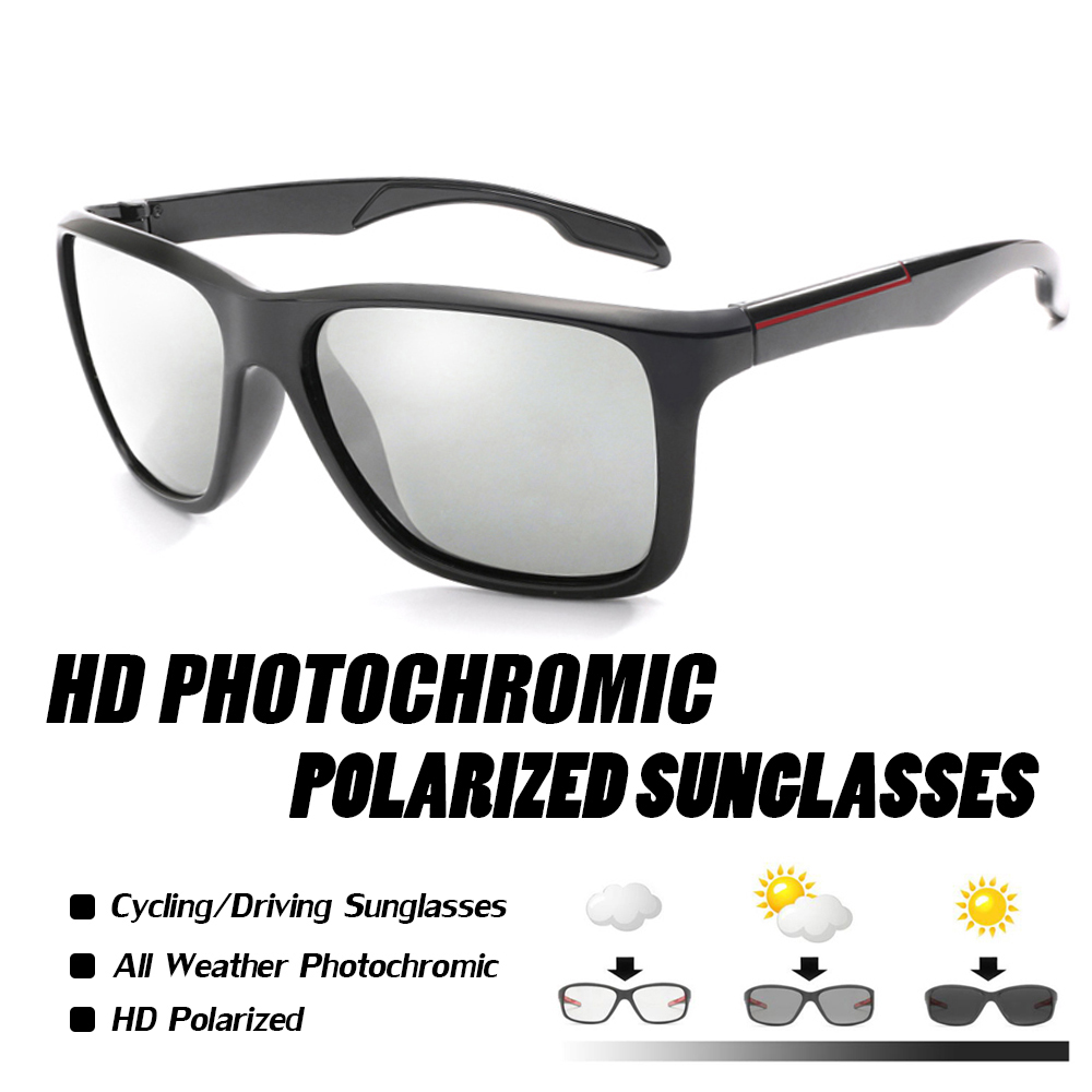 Polarized Photochromic Cycling Glasses Bike Glasses Outdoor Sports MTB Bicycle Sunglasses Goggles Eyewear Myopia Frame