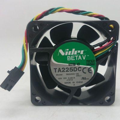 fa9132710ecf Closeout Nidec 6cm TA225DC B35200-35 6025 12V 0.22A cooling fan ...