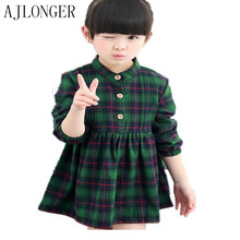 girls clothes dresses for girls children kids clothing British style princess dress for girls