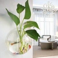 Acrylic Tường Treo Bonsai Bình Sáng Tạo Bể Cá Nhỏ Micro-phong cảnh Bình Hydroponic Pot Trang Trí Văn Phòng Nhà Aquarium