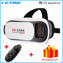 Virtual Reality Headset 3D Glasses Google Cardboard VR Box DVD Movies For Smartphone Wireless Phone Glasses GD03-3