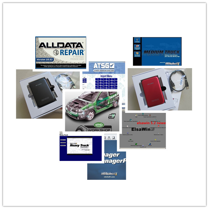 all data repair alldata 10.53 and mitchell on demand auto software+moto heavy truck+elsawin 5.2 for audi +vivid 1tb hdd 2017 alldata auto repair software v10 53 all data and mitchell software 2015 161g atsg moto heavy truck 4in1tb hdd