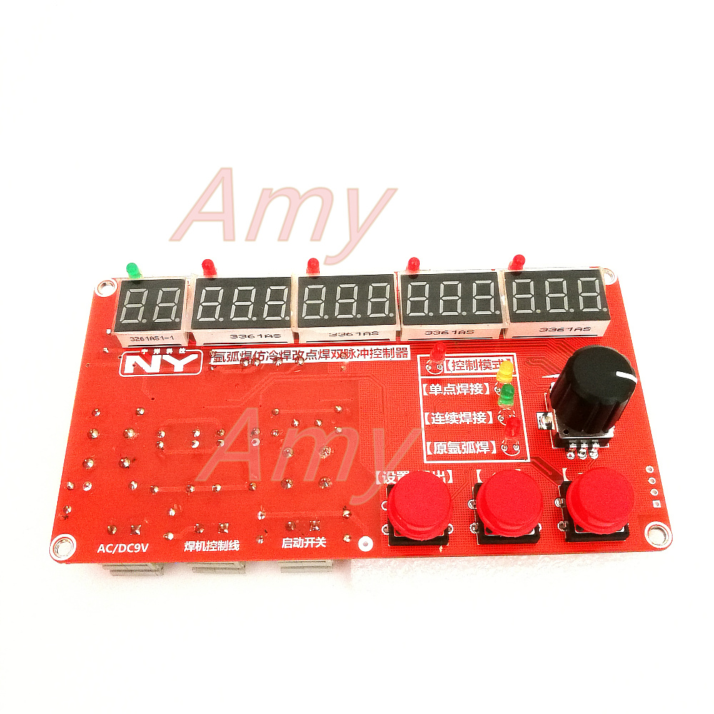 NY YHD02 precision dual pulse TIG welding pulse spot welding controller instead of imitation