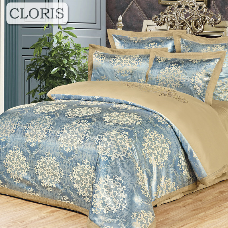 Quality Bedroom Furniture Brands: CLORIS 2018 Brand Fashion High Quality Bedding Set