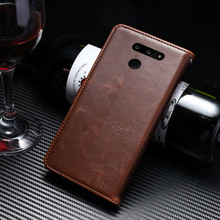 Flip Book Case For Coque LG G8 ThinQ Vintage Leather Wallet Phone Cover Etui Capinha Bags Shell 6.1