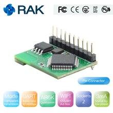 Q119 RAK425 Беспроводной UART последовательный WI-FI модуль для IOT низкая Мощность крошечные Размеры для промышленного Класс integrated протокол tcp/ip